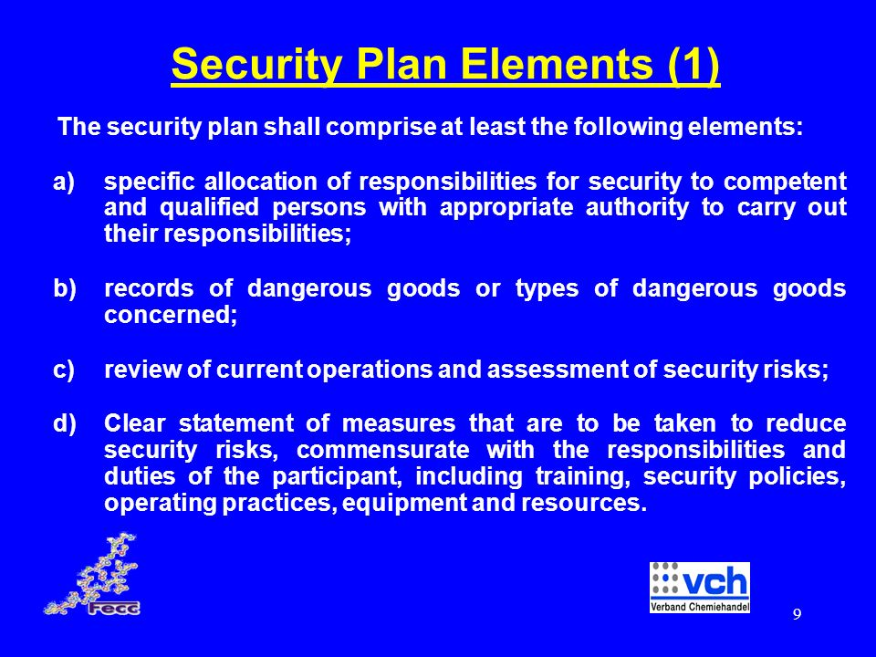 Security Plan Elements (1)