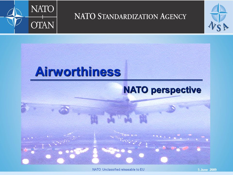 Airworthiness NATO perspective