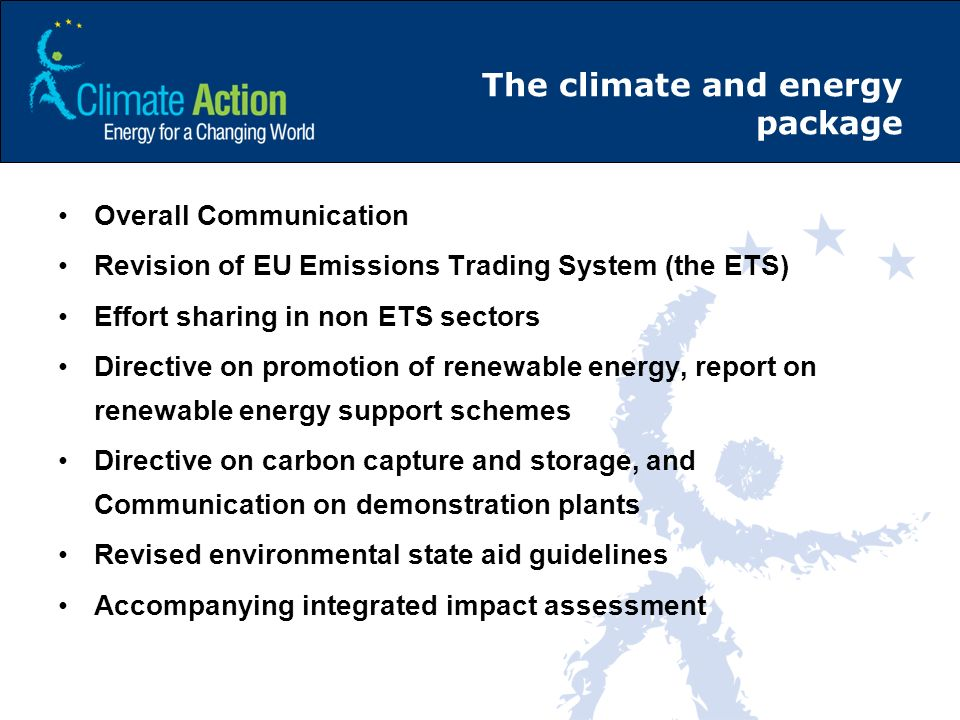 The climate and energy package