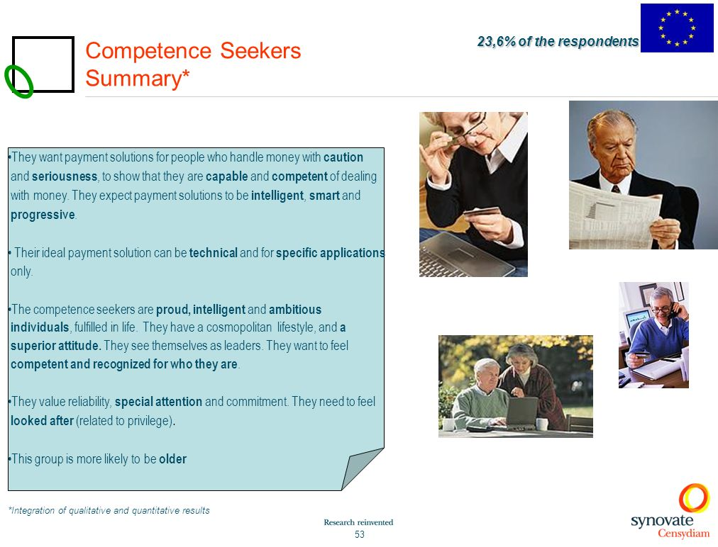 Competence Seekers Summary*