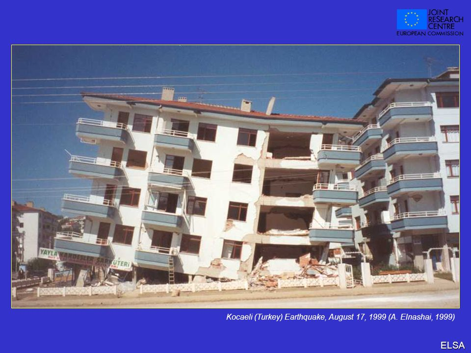 Kocaeli (Turkey) Earthquake, August 17, 1999 (A. Elnashai, 1999)