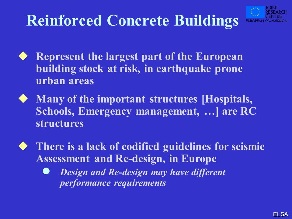 Reinforced Concrete Buildings