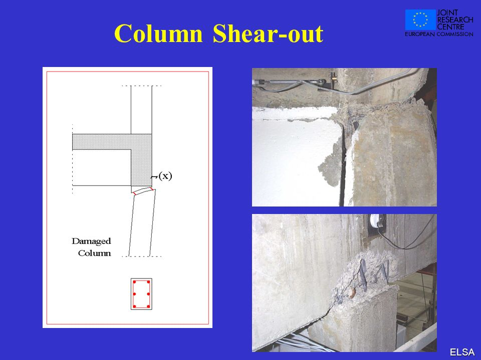 Column Shear-out