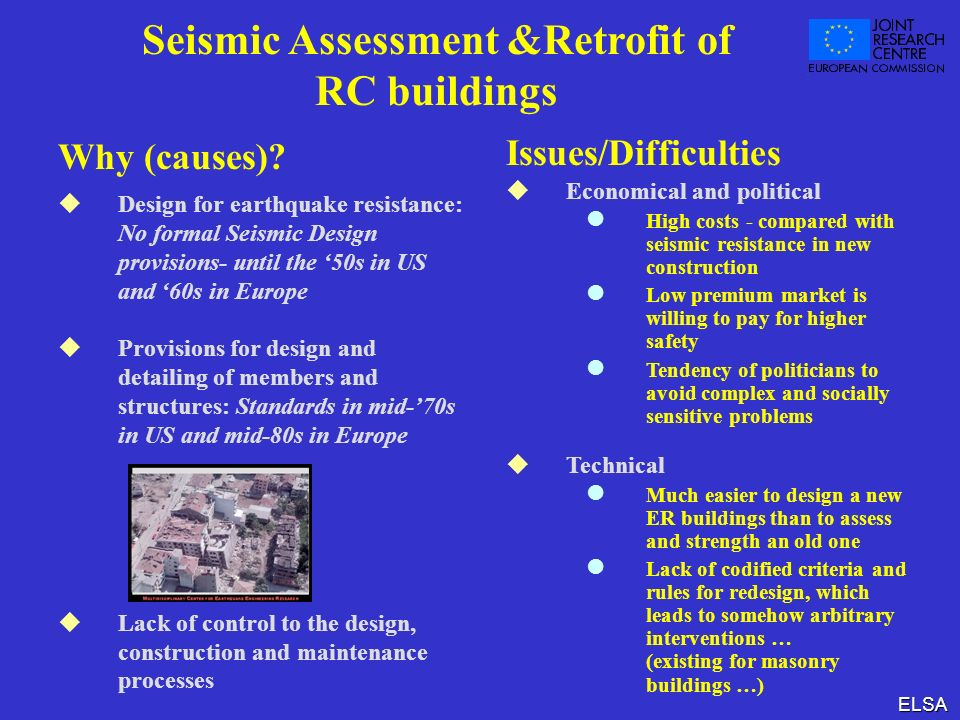 Seismic Assessment &Retrofit of RC buildings