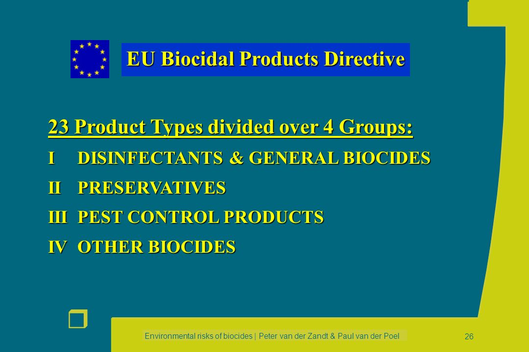 EU Biocidal Products Directive