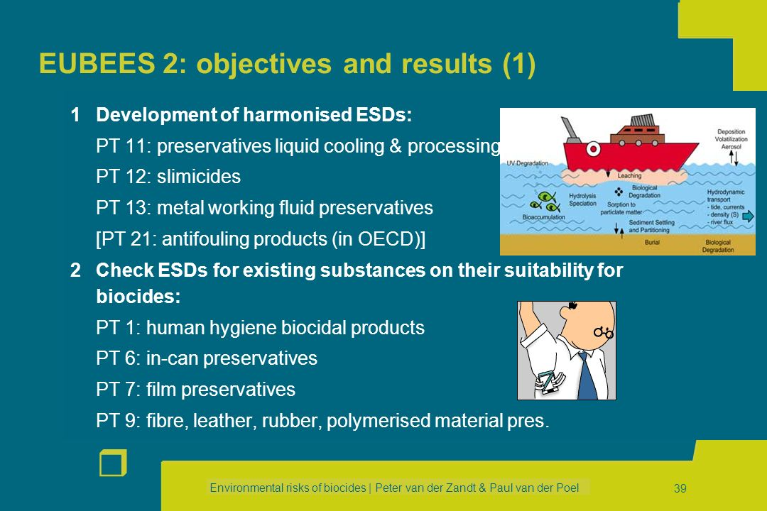 EUBEES 2: objectives and results (1)