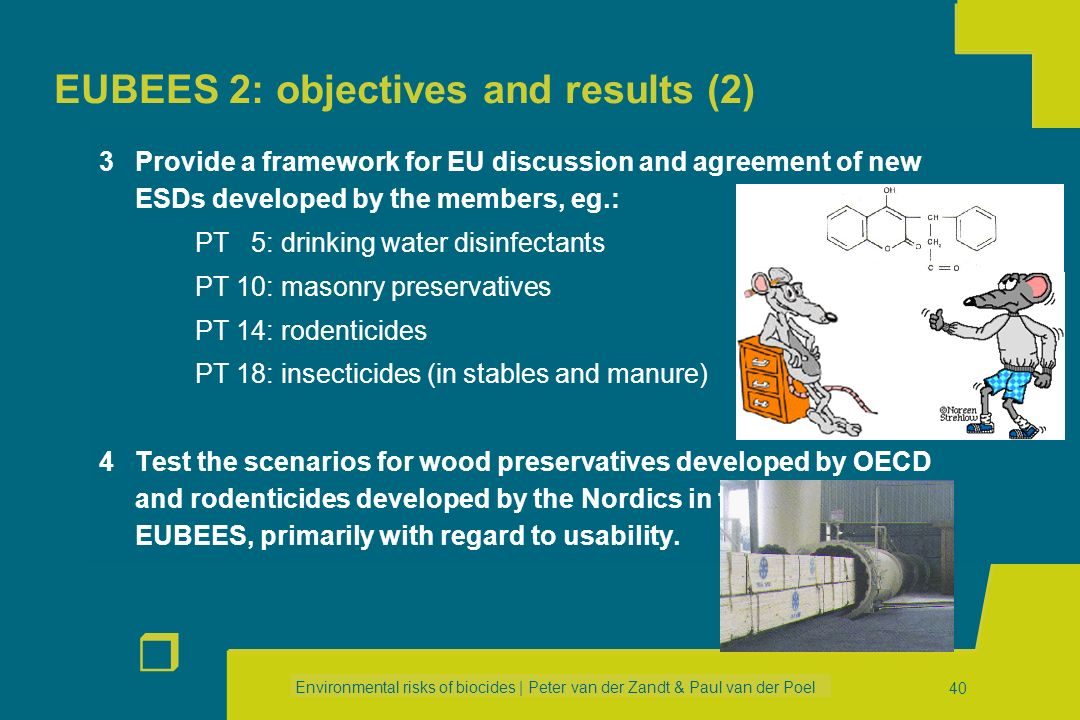 EUBEES 2: objectives and results (2)