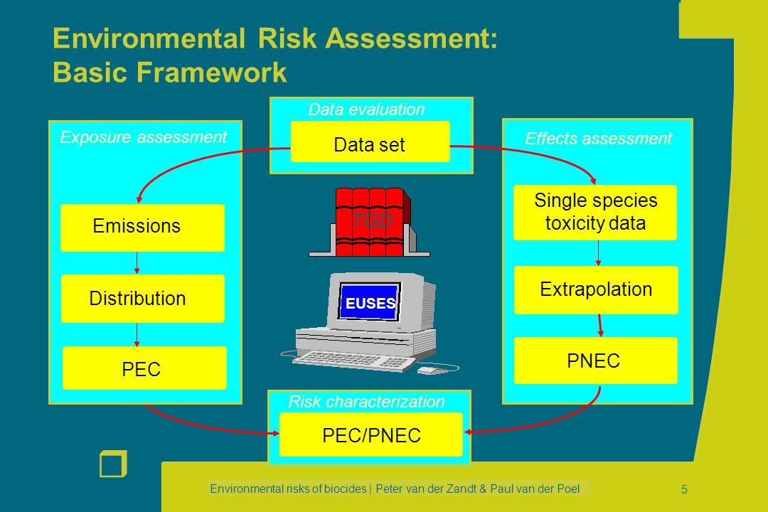 Environmental Risk Assessment: Basic Framework