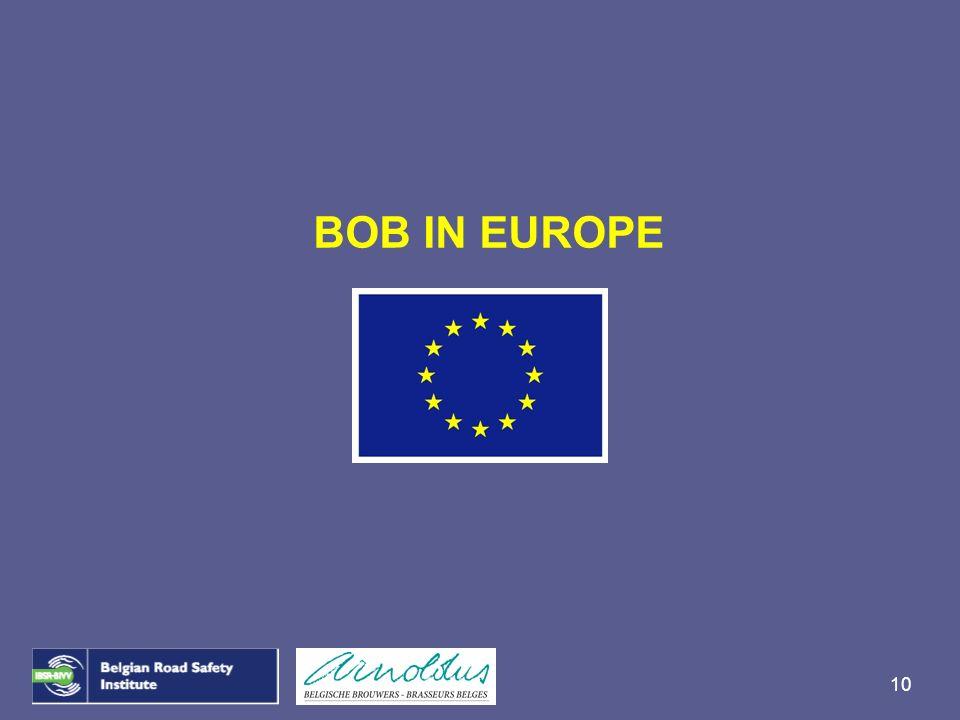 BOB IN EUROPE