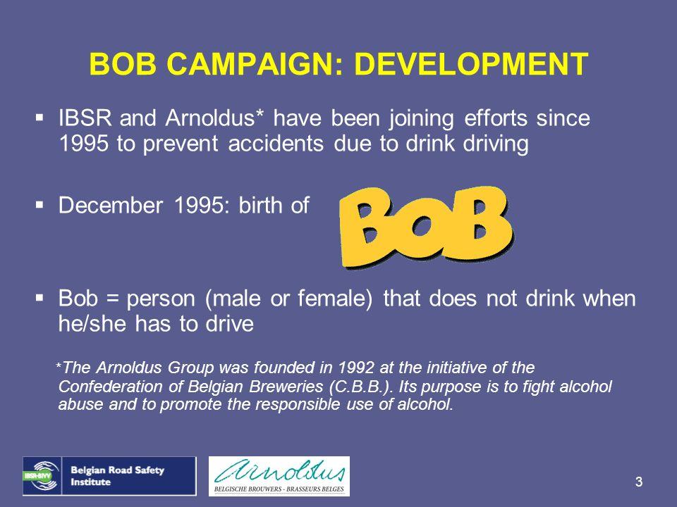 BOB CAMPAIGN: DEVELOPMENT
