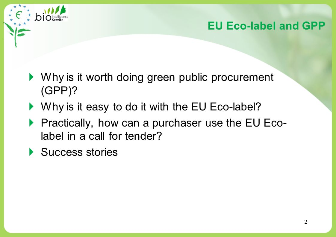 Why is it worth doing green public procurement (GPP)