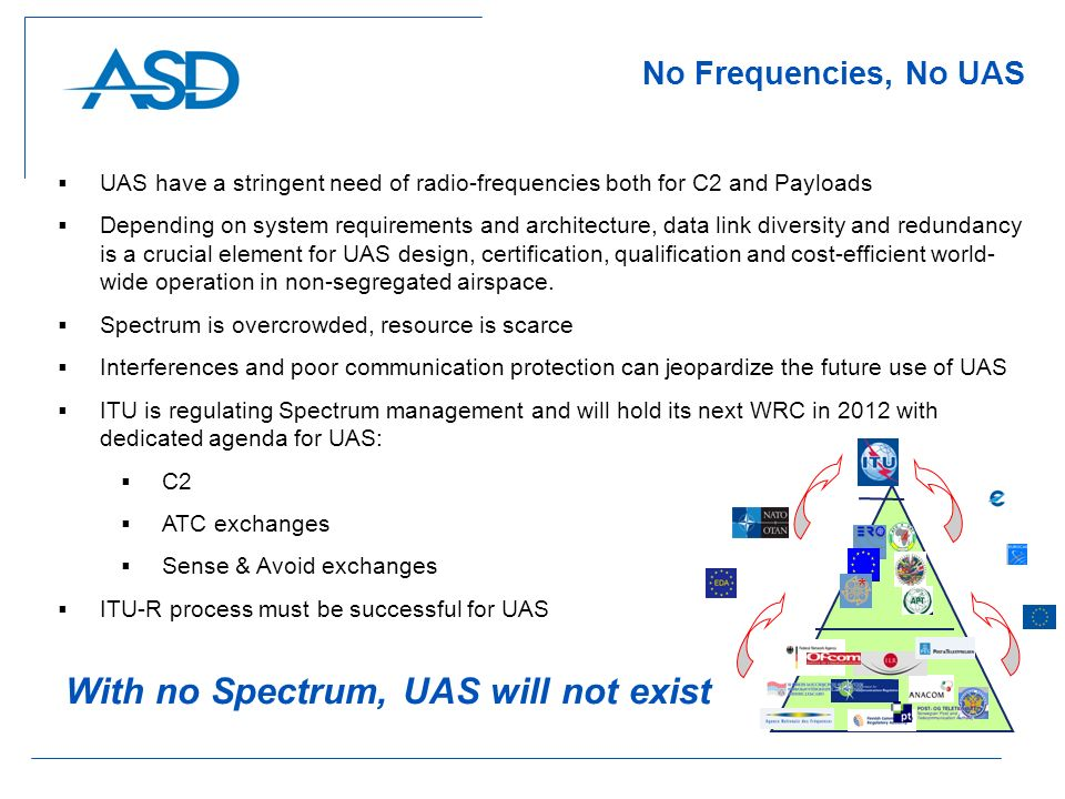 With no Spectrum, UAS will not exist