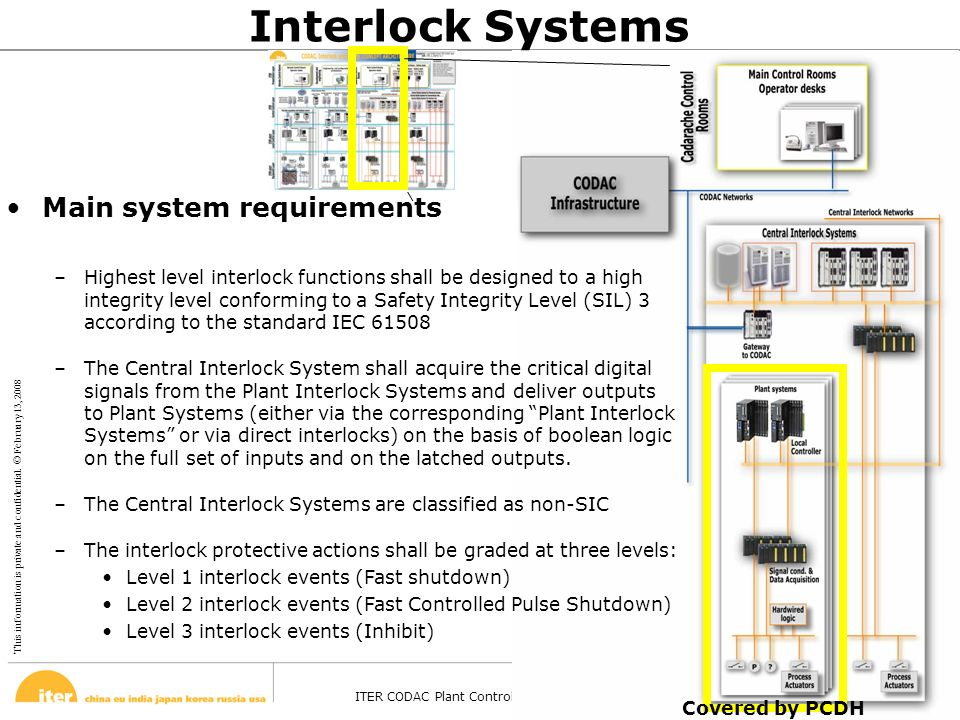 Interlock Systems Main system requirements