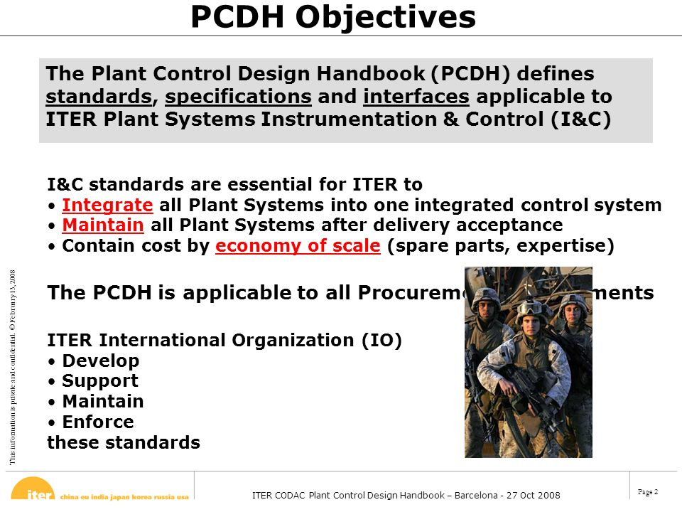 PCDH Objectives