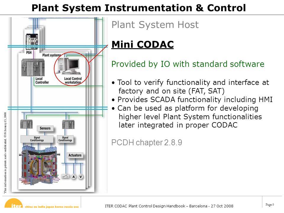 Plant System Instrumentation & Control