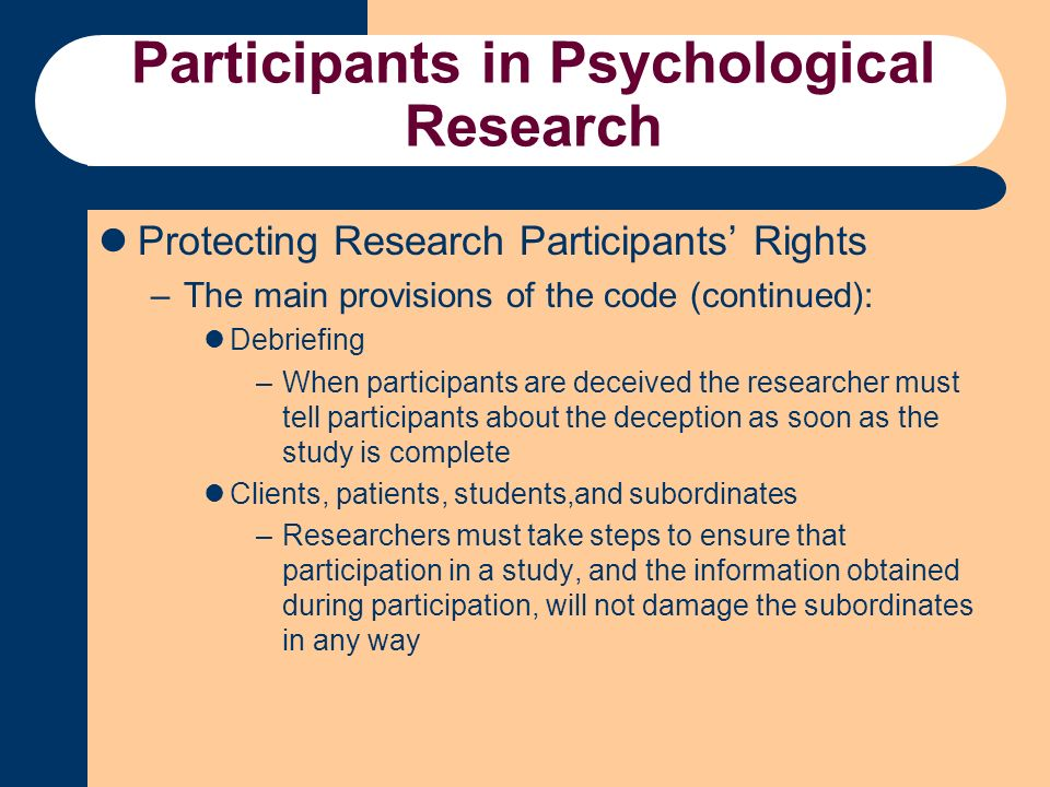 steps in psychological research pdf