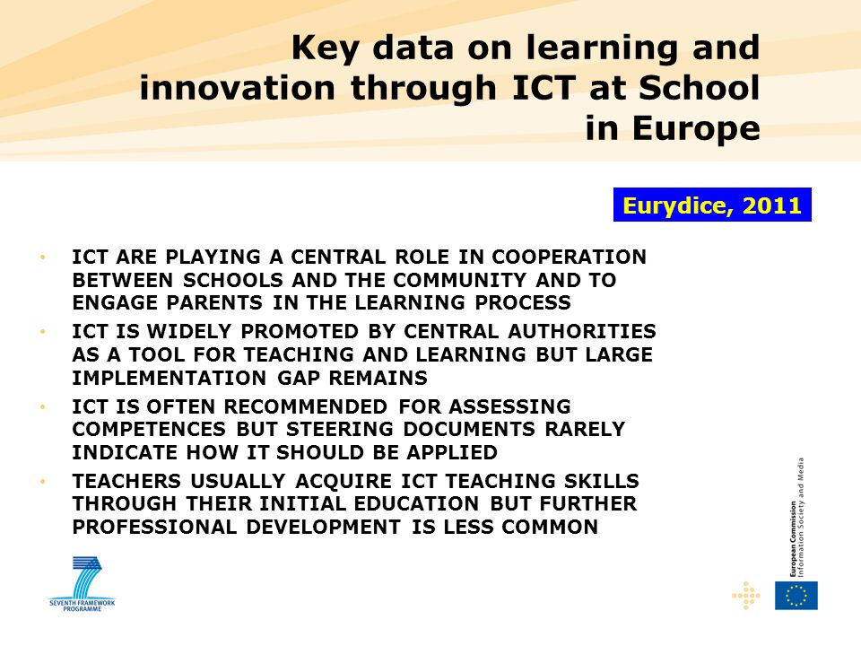 Key data on learning and innovation through ICT at School in Europe