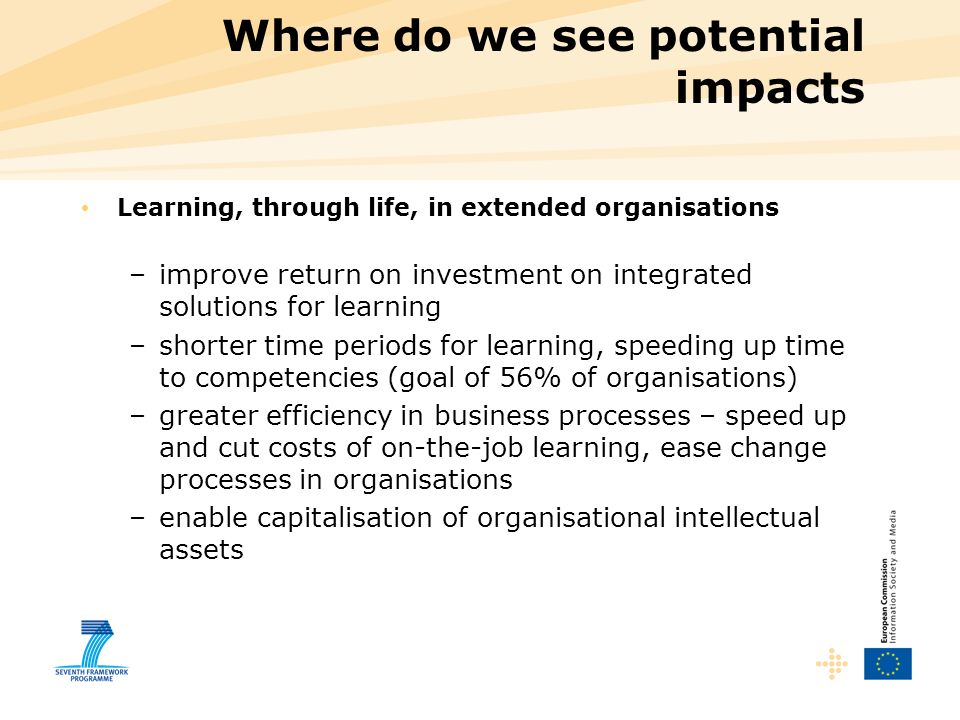 Where do we see potential impacts