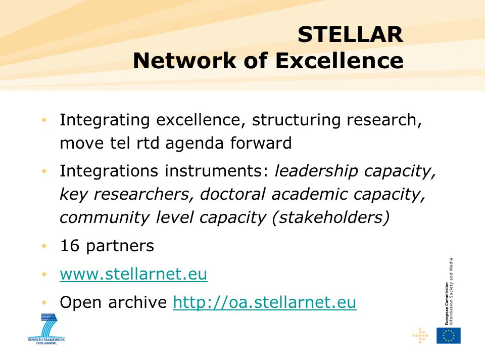 STELLAR Network of Excellence