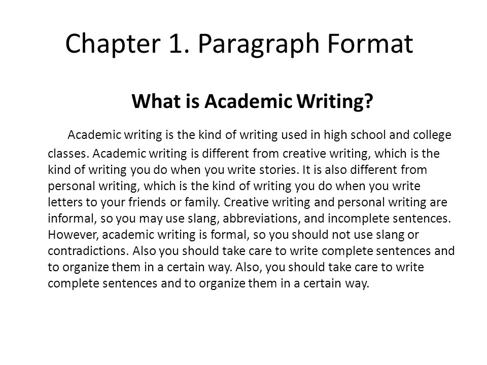 In what person should formal essays be written