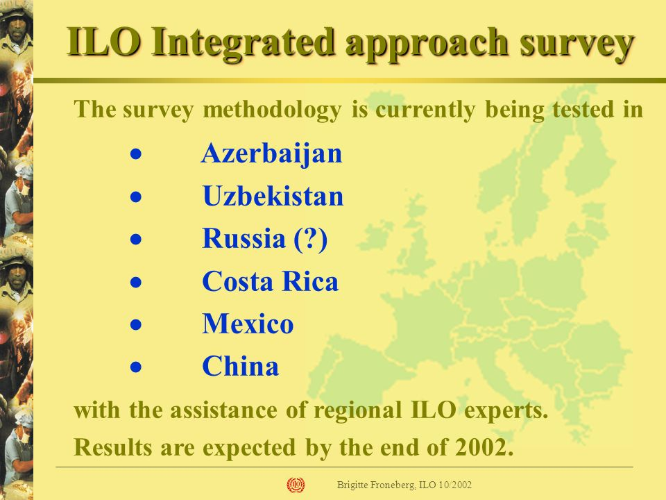 ILO Integrated approach survey