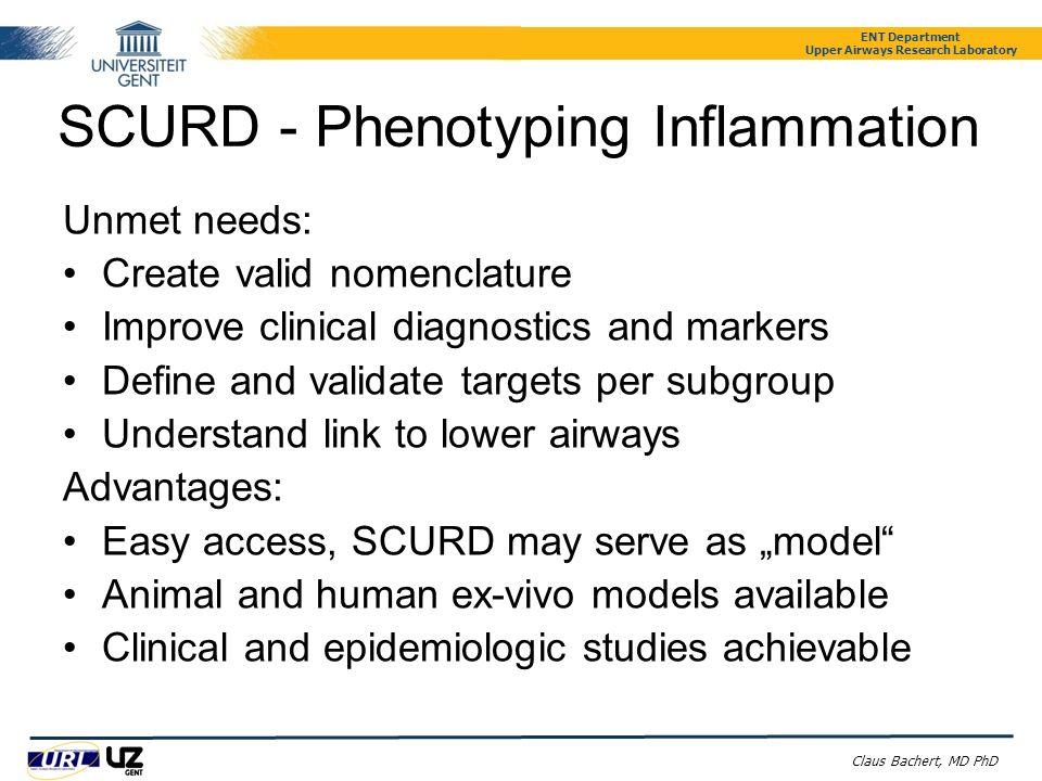 SCURD - Phenotyping Inflammation