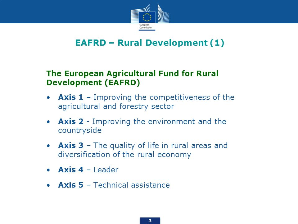 EAFRD – Rural Development (1)