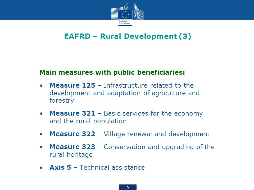 EAFRD – Rural Development (3)