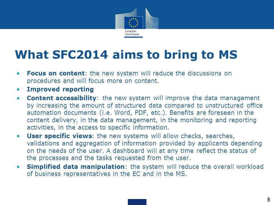 What SFC2014 aims to bring to MS