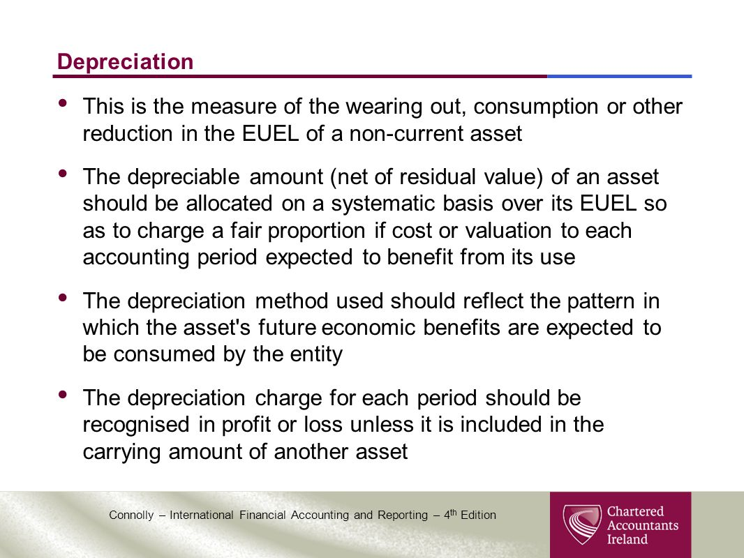 The depreciable cost of an asset is - Depreciation This Is The Measure Of The Wearing Out Consumption Or Other Reduction In The