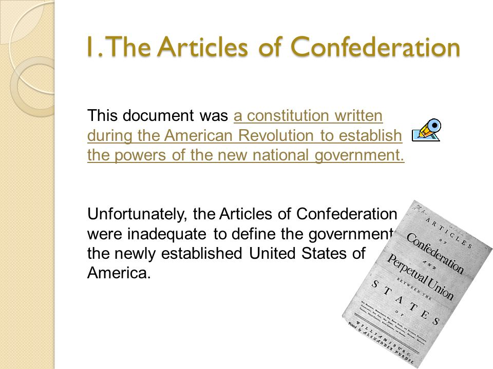 how were the articles of confederation Why were the articles of confederation ineffective in relation to foreign affairs more questions is it articles of confederation were.