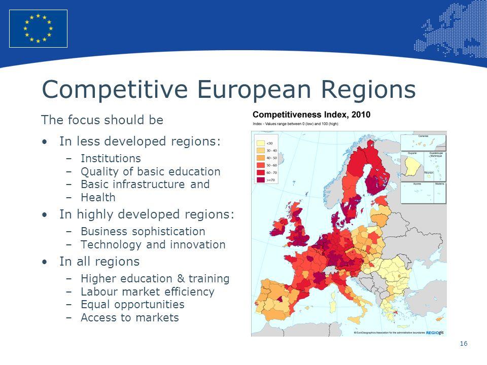 Competitive European Regions