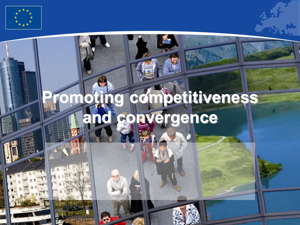 Promoting competitiveness and convergence