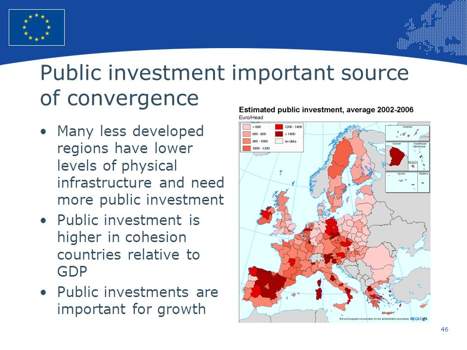 Public investment important source of convergence