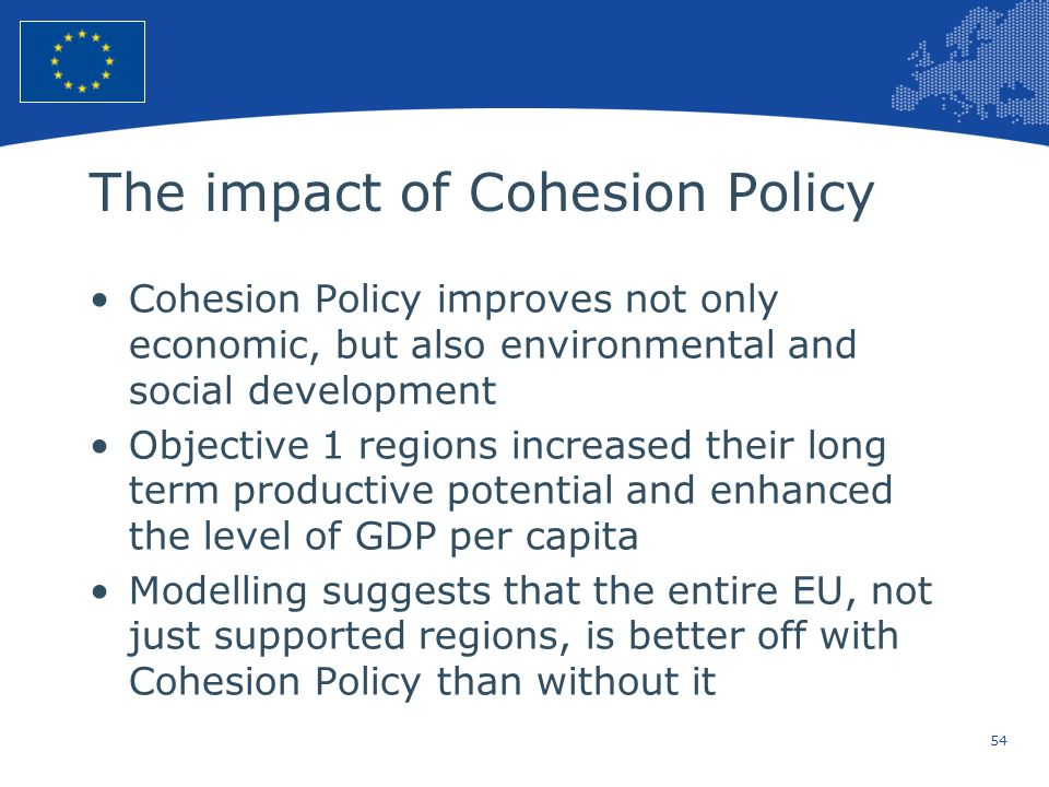 The impact of Cohesion Policy