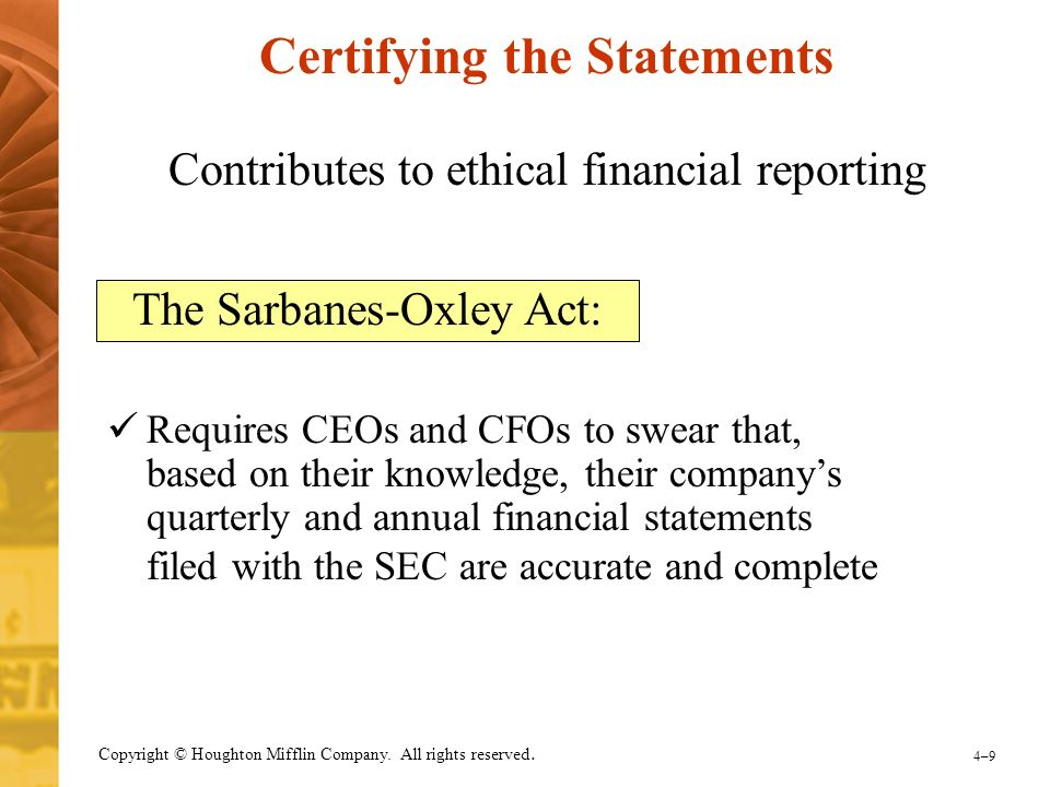 what do you believe the future holds for the sarbanes oxley act How can we prevent another enron, or worse  which was created by the sarbanes-oxley act to oversee the auditing profession  the pcaob has anticipated a likely cause of future scandals and.