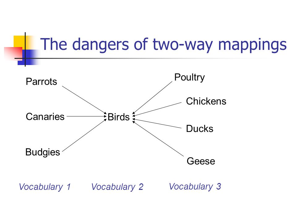 The dangers of two-way mappings