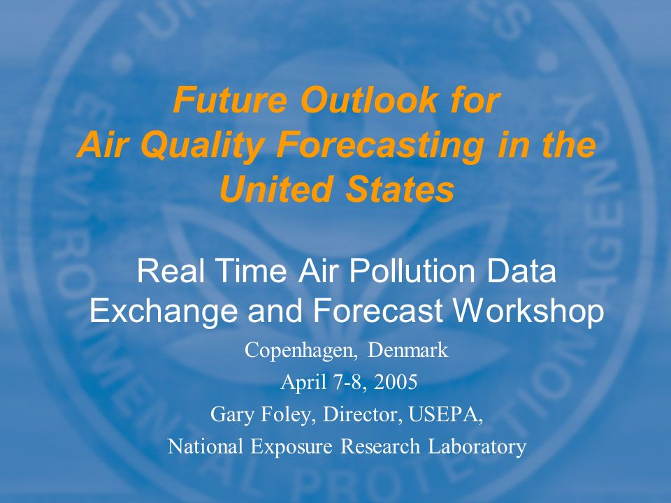 Future Outlook for Air Quality Forecasting in the United States