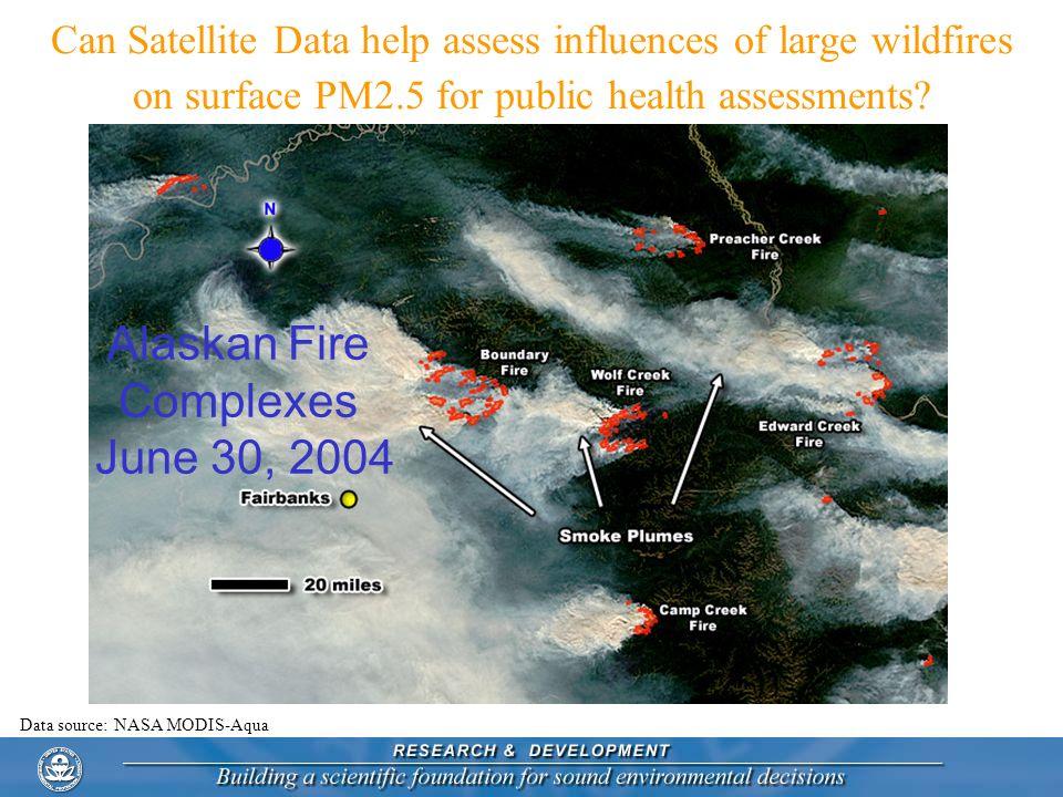 Alaskan Fire Complexes June 30, 2004
