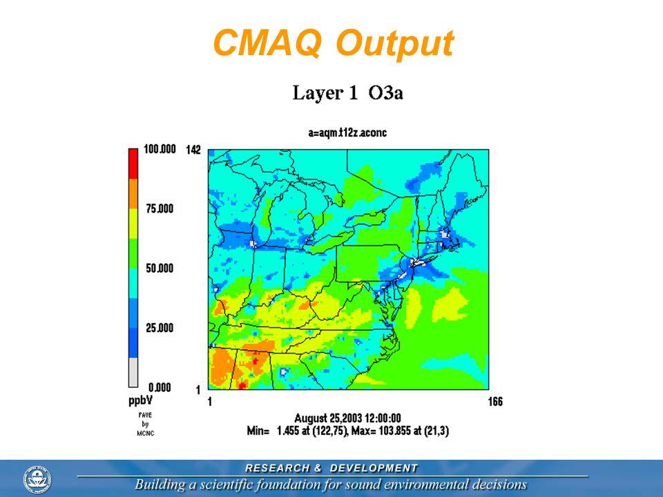 CMAQ Output