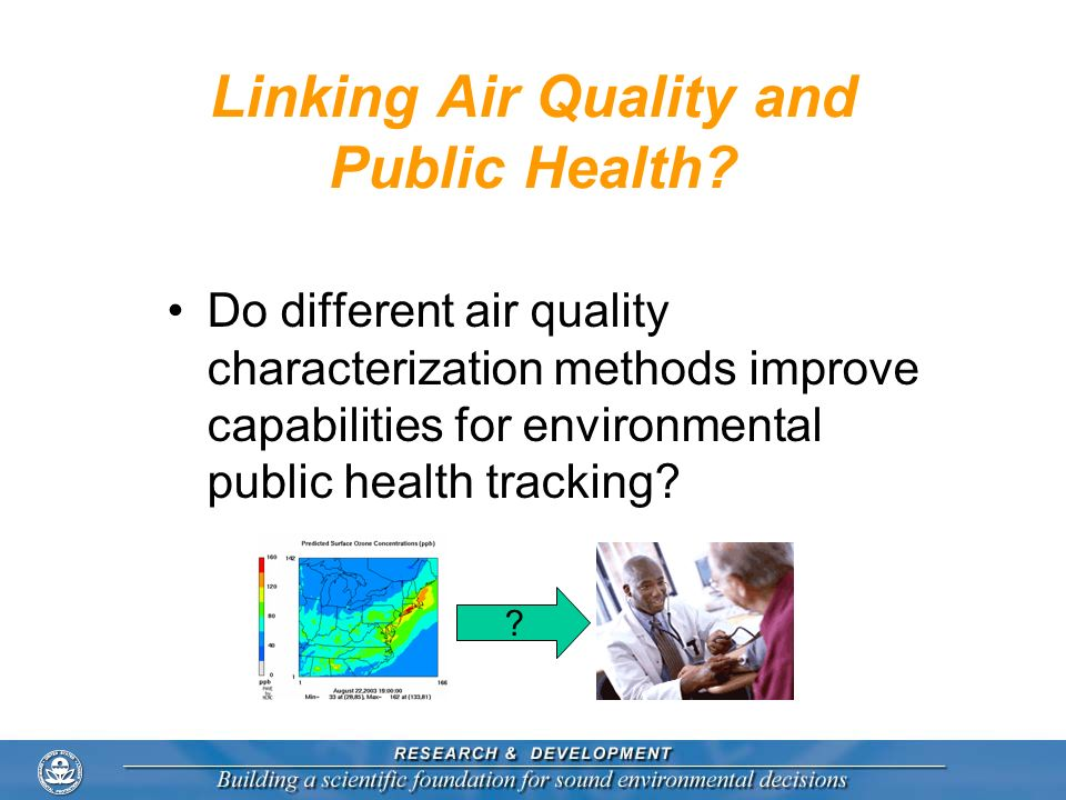 Linking Air Quality and Public Health