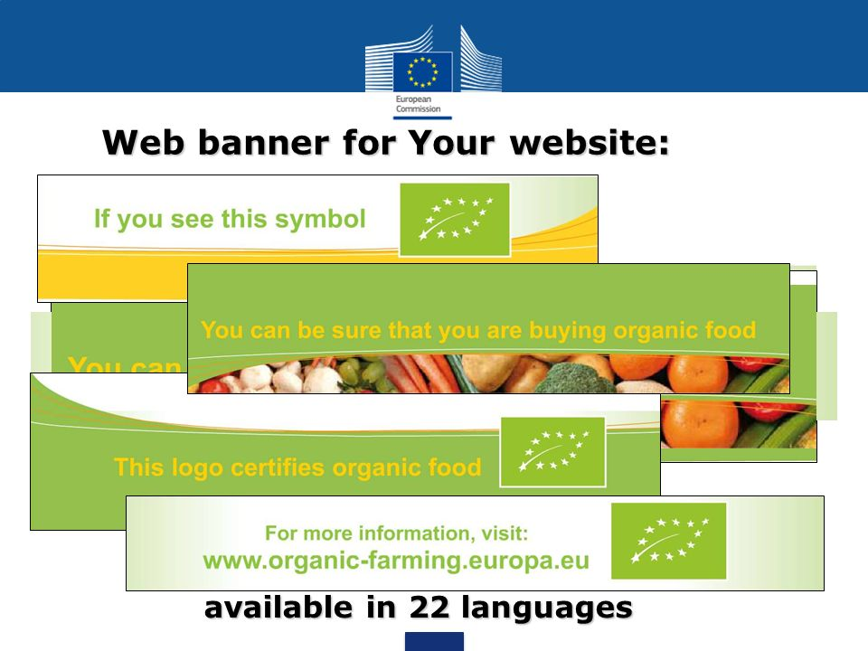 Web banner for Your website: