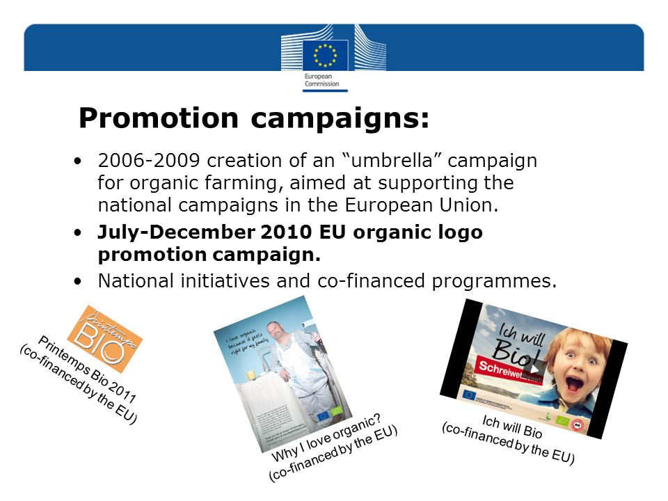 Promotion campaigns: