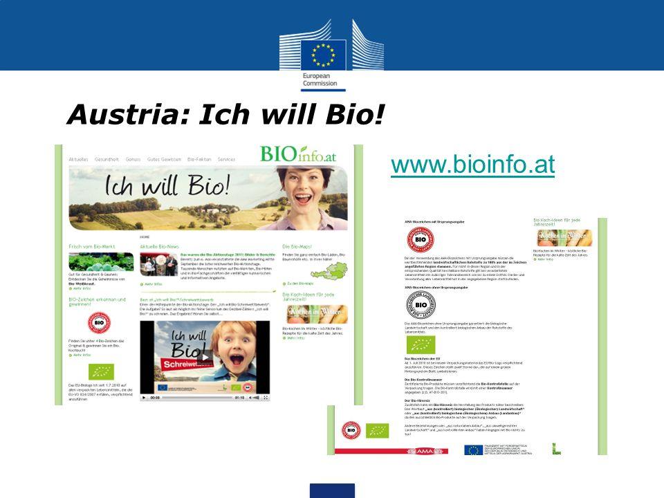 Austria: Ich will Bio! www.bioinfo.at