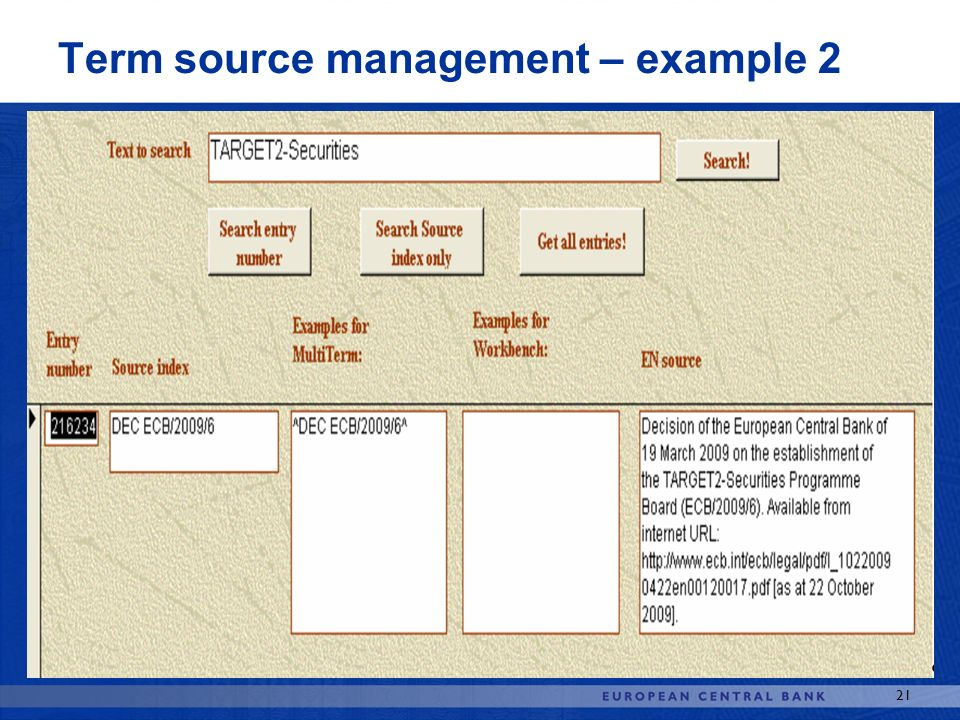 Term source management – example 2