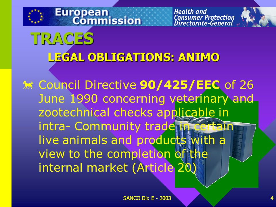 TRACES LEGAL OBLIGATIONS: ANIMO