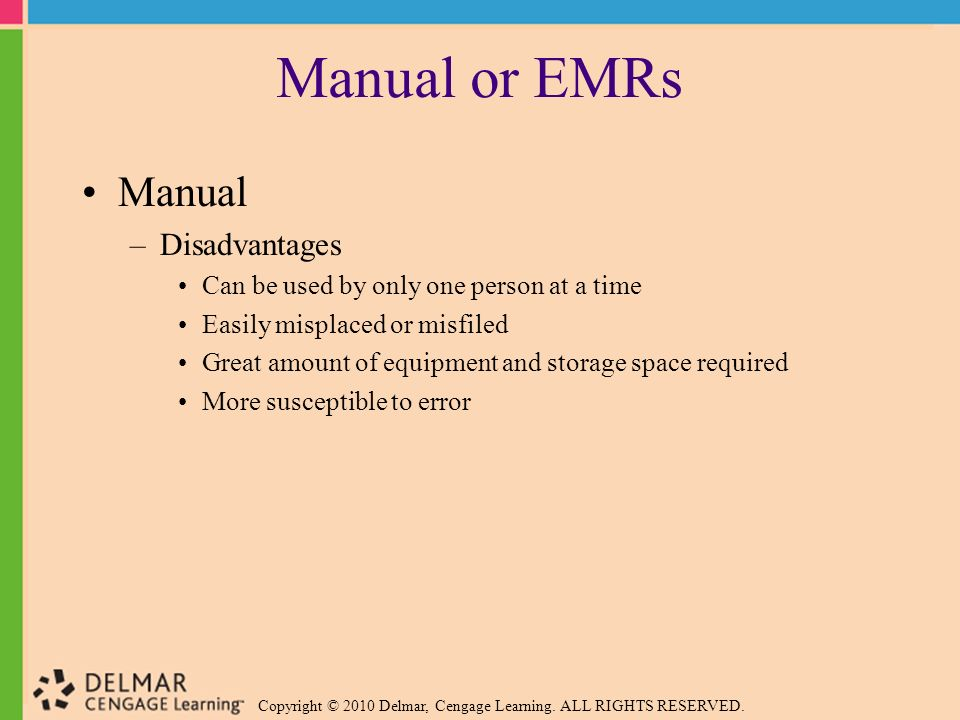 Medical records management ppt video online download - Advantages disadvantages electronic locks ...