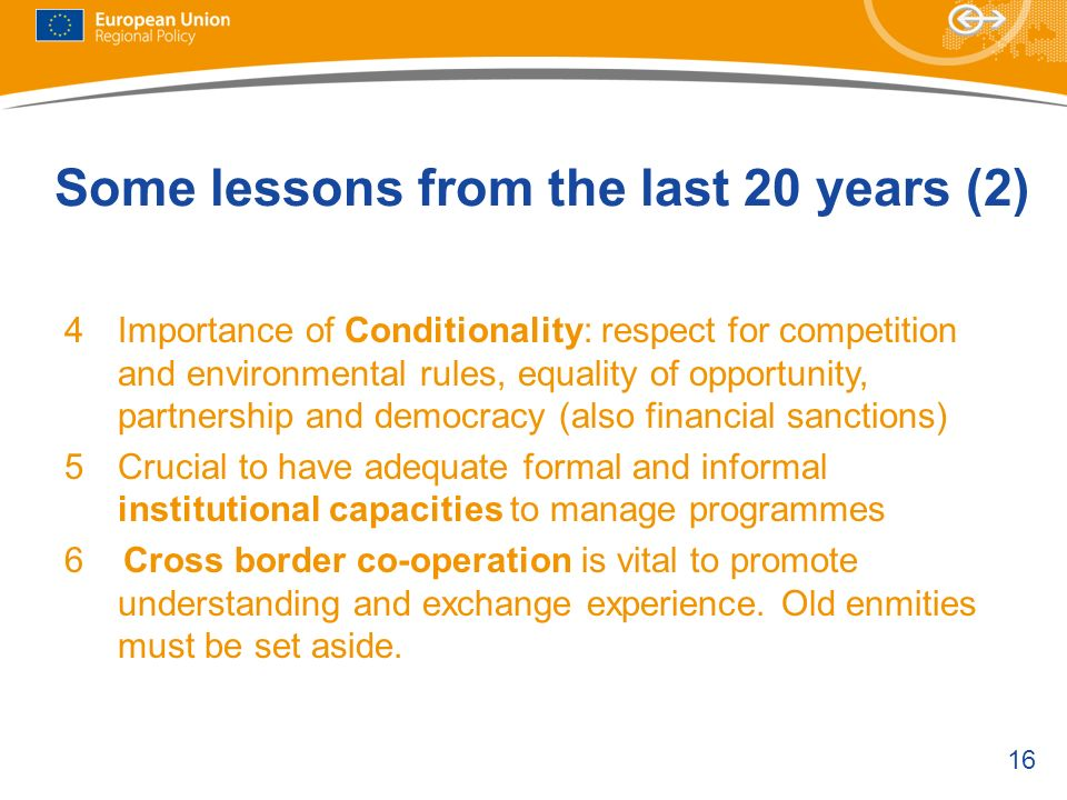 Some lessons from the last 20 years (2)