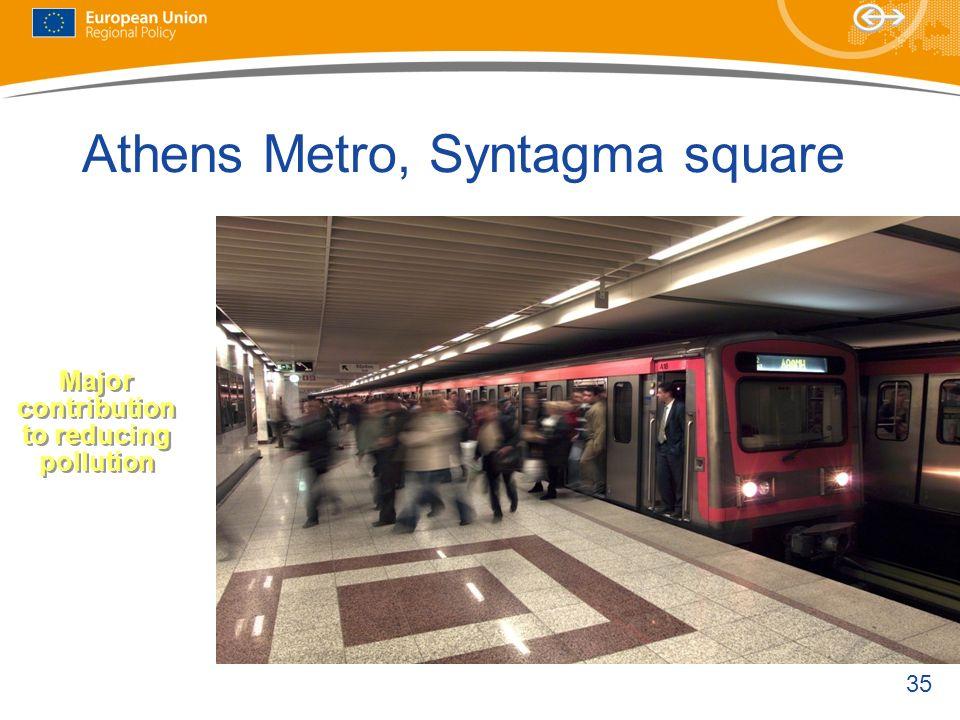 Athens Metro, Syntagma square
