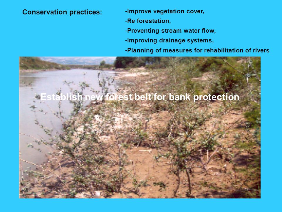 Conservation practices: